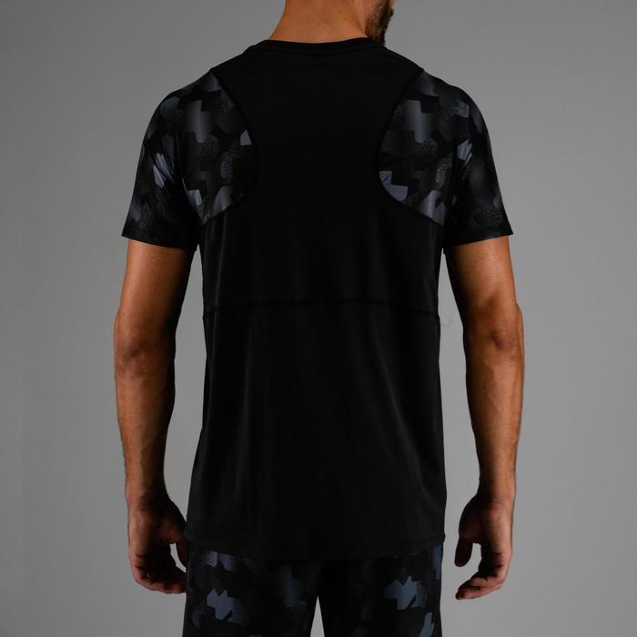 FTS500 有氧健身 T 恤 - 黑色 AOP