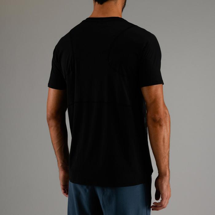 FTS 500 有氧健身运动 T 恤 - 黑色印花