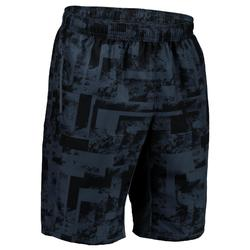FST 120 Cardio Fitness Shorts - Grey AOP
