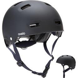轮滑/滑板/滑板车头盔MF500 - Black/Blue