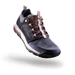 郊野徒步鞋-女士-深蓝 | NH500