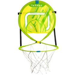 儿童/成人便携式篮筐Hoop 100 含篮球- 绿色