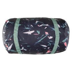 30 升折叠健身包 - 花卉卡其色