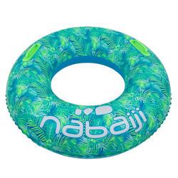 """儿童充气泳圈92 厘米blue """"ALL TROPI"""" 大尺寸带舒适的把手"""