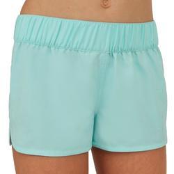 女童沙滩裤带弹性腰带Kina - Sky Blue