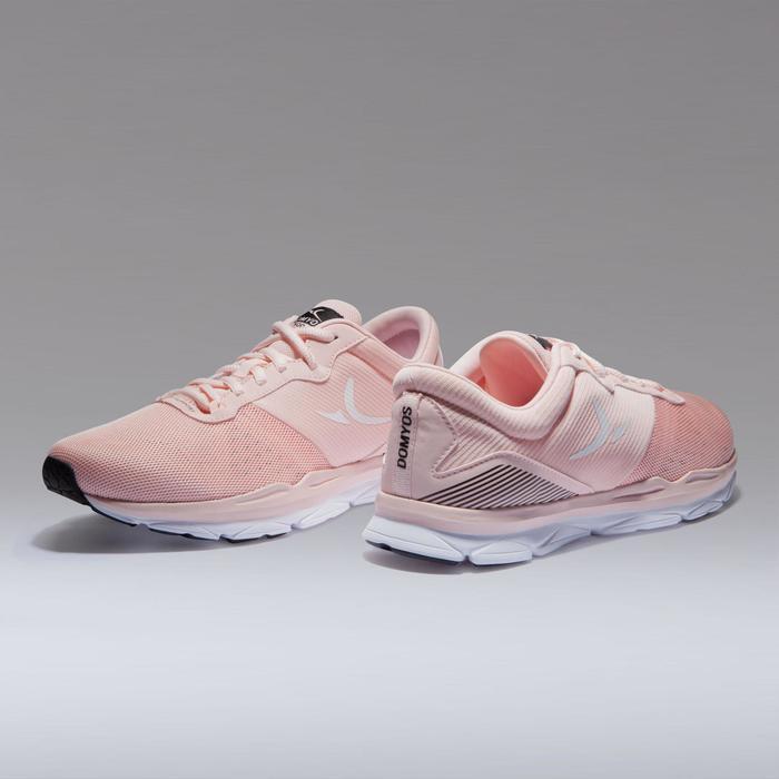 500 女式有氧健身运动鞋 - 粉色