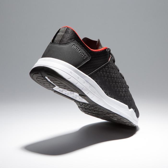 有氧健身运动鞋 500 - 黑色/红色