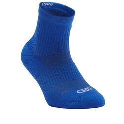 青少年跑步袜(高帮)2双装 靛蓝色
