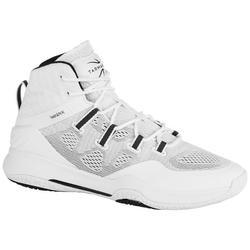 成人篮球运动鞋SC500 适用于中阶篮球爱好者- 白色
