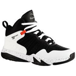 男孩/女孩篮球鞋SS500H 适用于初学者- 黑色/白色