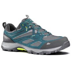 MH100 waterproof Men's Hiking shoes blue