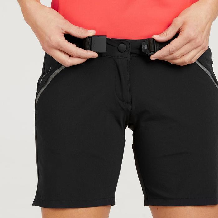 女式山地徒步短裤 MH500 - 黑色
