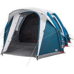 露营充气帐篷 透气遮光款 AIR SECONDS 4.1 FRESH&BLACK | 4 人,1 个卧室
