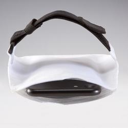 跑步运动智能手机臂袋 大号-白色