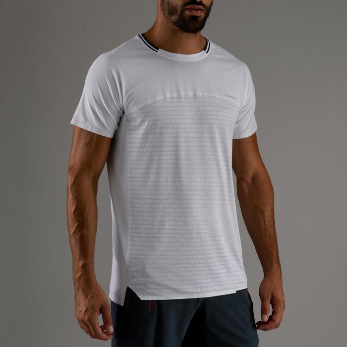 FTS 920 有氧健身运动 T 恤 - 白色