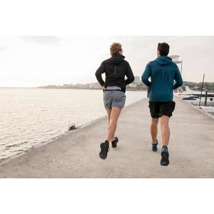 跑步运动智能手机腰包-灰色