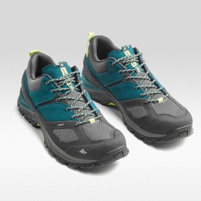 男式山地徒步鞋 MH500 - 蓝色