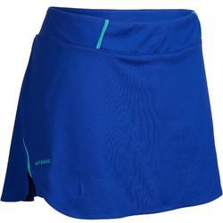 女士网球裙轻盈短裙990-蓝色