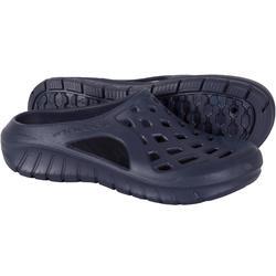 男式泳池拖鞋 100 - Navy Blue
