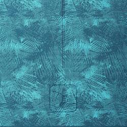 8毫米舒缓瑜伽垫 - Jungle Blue Print