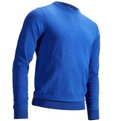 男士高尔夫套头衫-斑驳铁蓝色