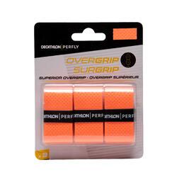 优质羽毛球球柄吸汗带x 3 橙色