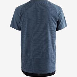 普拉提与舒缓健身T恤540 FREE MOVE系列 - 蓝色