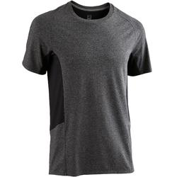 560 Regular-Fit Gentle Gym & Pilates T-Shirt - Dark Grey