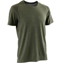 520 Regular-Fit Gentle Gym & Pilates T-Shirt - Khaki