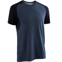 520 Regular-Fit Pilates & Gentle Gym T-Shirt - Navy Blue