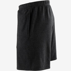 100 Regular-Fit Pilates & Gentle Gym Shorts - Dark Grey