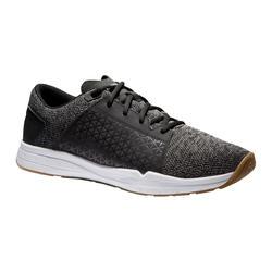 有氧健身运动鞋 500 - 灰色/黑色