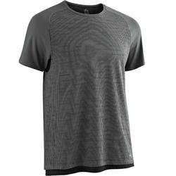 540 Free Move Pilates & Gentle Gym T-Shirt - Dark Grey