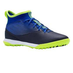 青少年硬地高帮足球鞋 Agility 500 HG - 蓝色/黑色