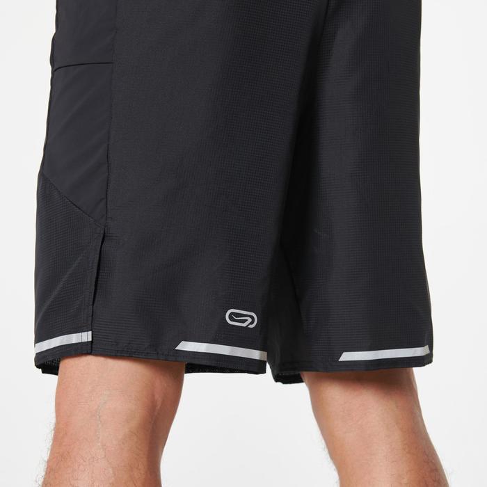 男式马拉松短裤 - 黑色