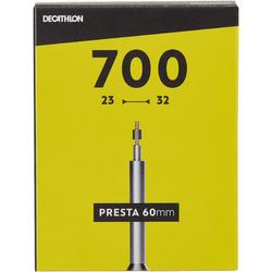 700x23/32 60 mm 法式气嘴内胎
