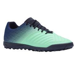 成人硬地足球鞋 Agility 140 HG - 蓝色/绿色