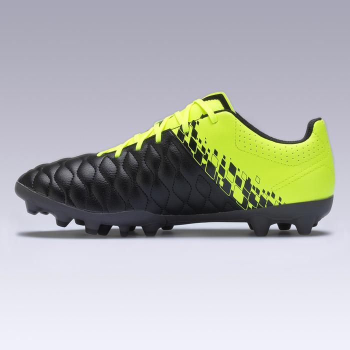 成人足球鞋 Agility 500 MG 干燥的足球场 -黄色/黑色