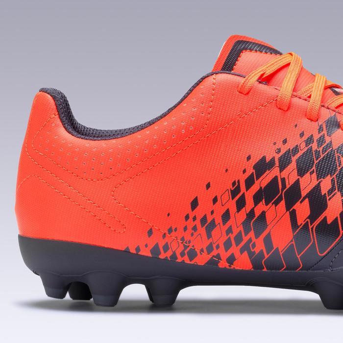 成人碎钉足球鞋 Agility 500 HG - 橙色/深蓝色