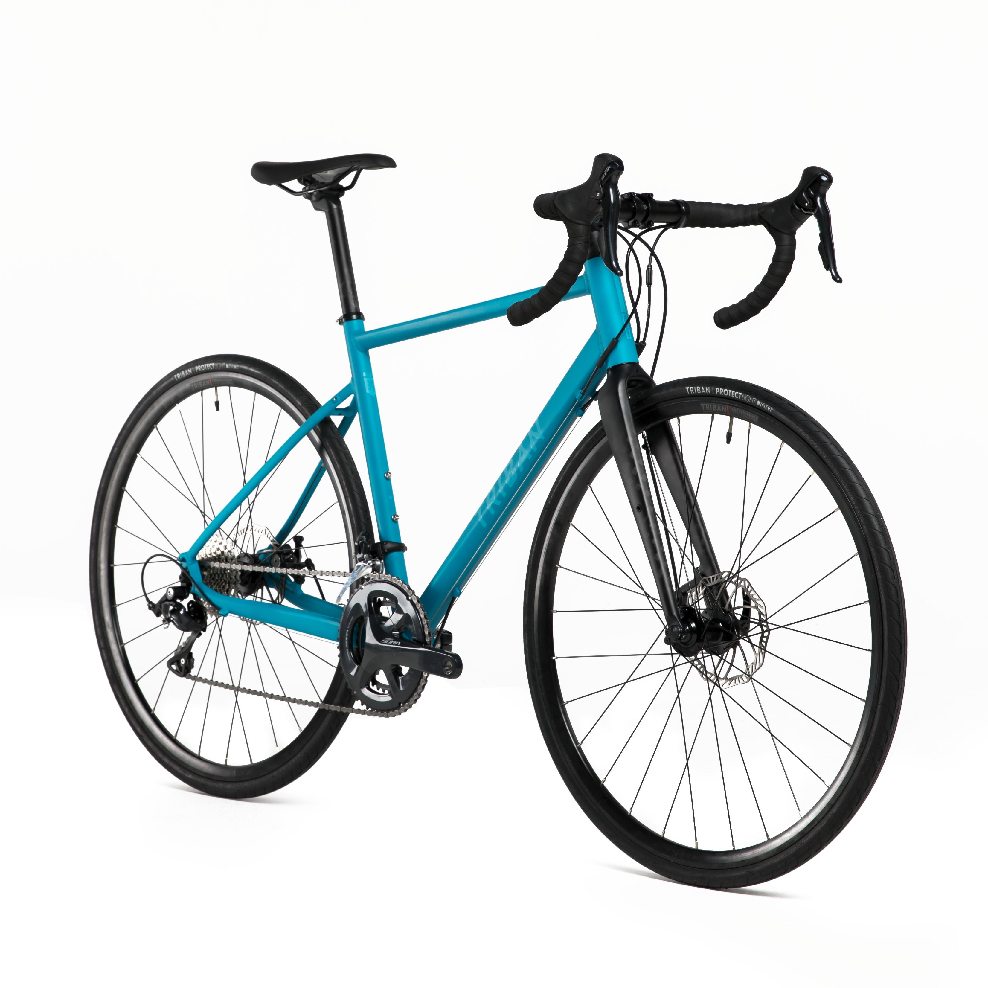 Road Cycling Bike Triban Rc 500 Cycle Touring Road Bike Cn Triban