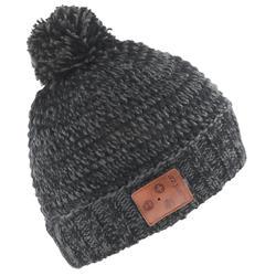 成人蓝牙滑雪保暖帽BLUETOOTH - BLACK