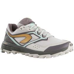 女式越野跑鞋XT7 灰色/ 金色