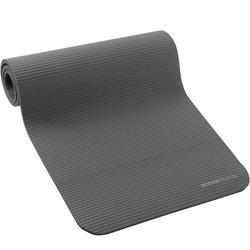 500 地板健身垫 舒适款 中号 15 毫米厚 - 灰色