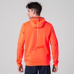 男式热身运动夹克 橙色