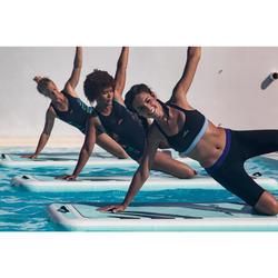 女式水中健身泳衣Black blue Anny