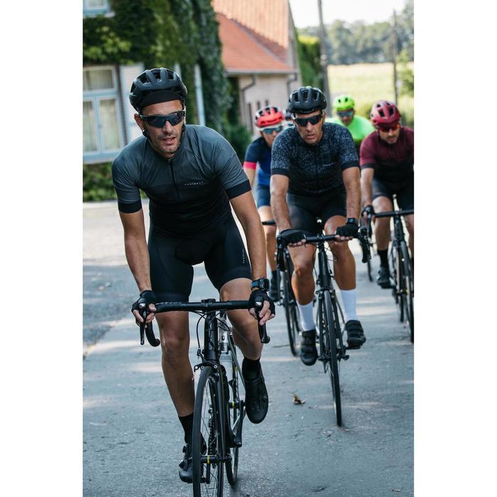 夏季骑行运动衫 - 黑色