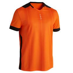 成人足球衫F500 - 橙色