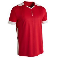 成人足球衫Kipsta F500 红色