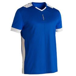 成人足球服 F500 蓝色
