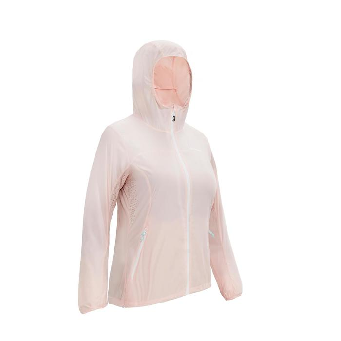女士皮肤衣 防晒夹克 HELIUM MH500 - 浅粉色